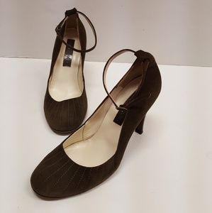 Marc Jacobs suede heels